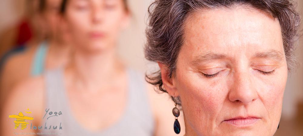 Françoise, profesora de Yoga Inuksuk