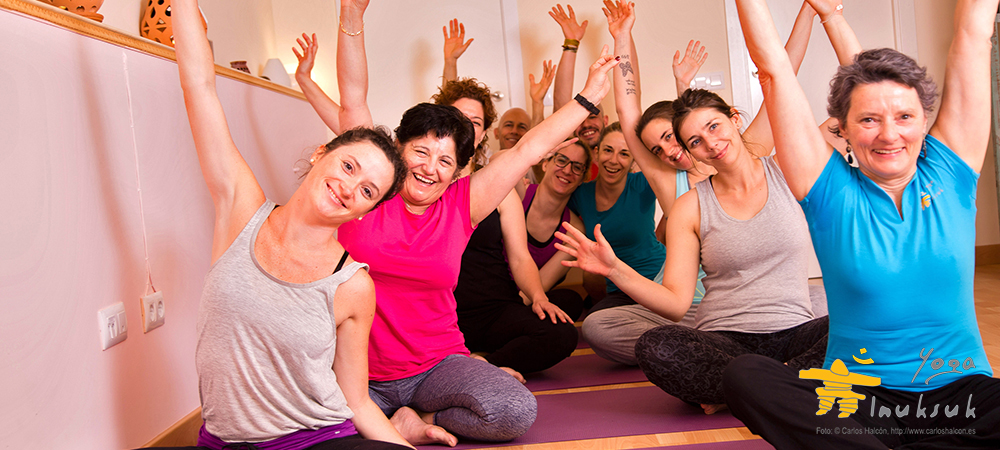 Alumnos de Yoga Inuksuk